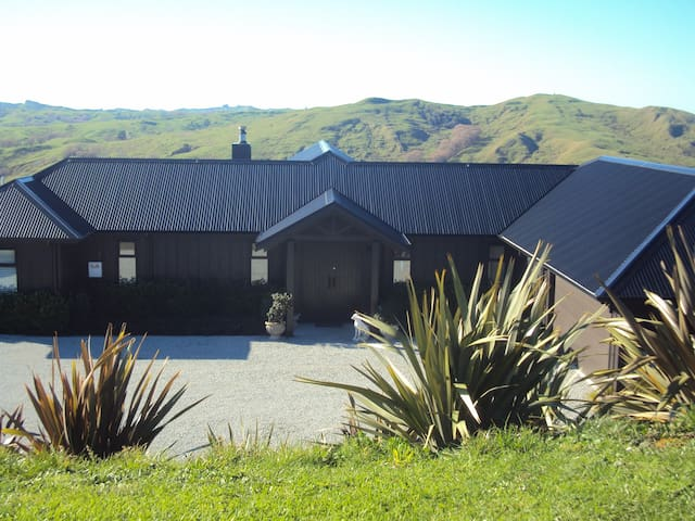Magnificent views quiet and relaxing (1) - Gisborne - Casa