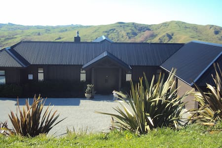Magnificent views quiet and relaxing (1) - Gisborne - Rumah