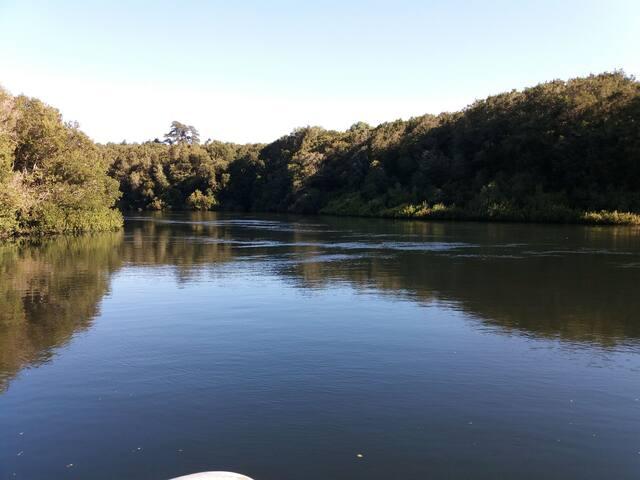Puerto varas  salida al rio maullin