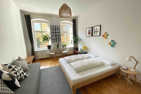 Lemon Tree Room - king size bed, private, central