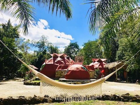 Casa Leon Global, 3 Domes In Mayan Jungle