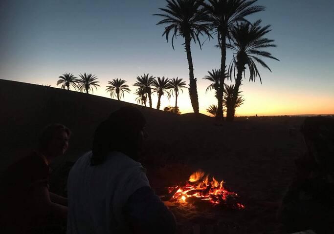 Auberge Oasis Mhamid