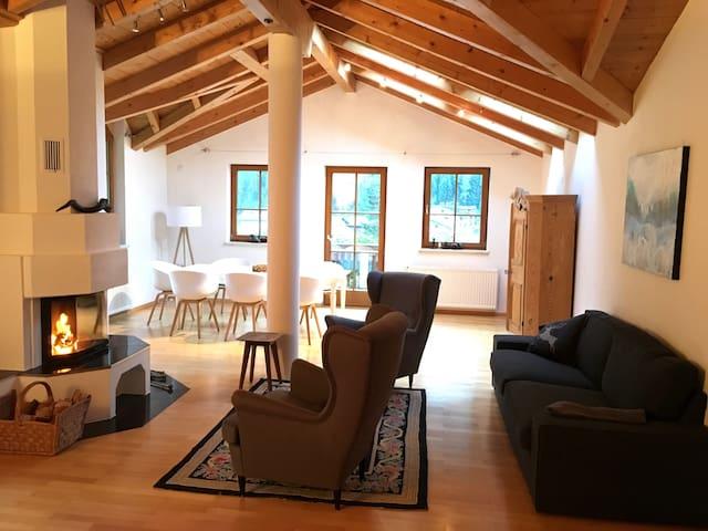 Schönes Haus im Kaunertal, Tirol, mit Kamin WLAN - Feichten im Kaunertal - Haus
