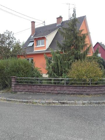 maison située au nord de Strasbourg à 22km
