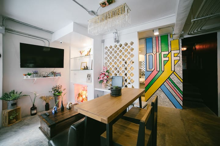 DiFF Hostel : The Budget Family room
