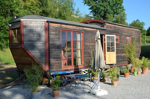 Living in the cozy tiny house