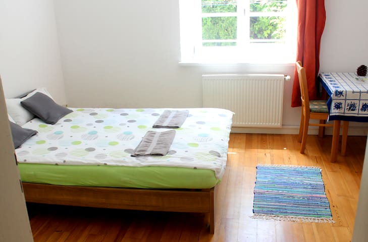 Large quiet room, 10min walk central train station - Passau
