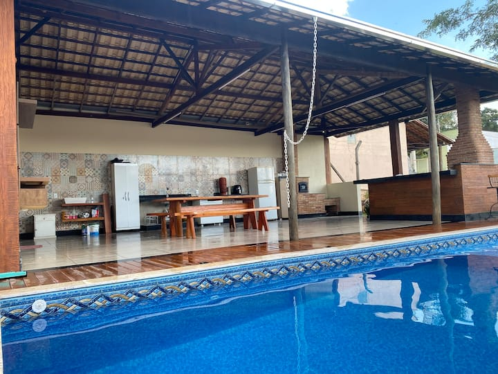 """""""Sítio GAMBARELLI"""" piscina aquecida Itaúna-MG Wifi"""