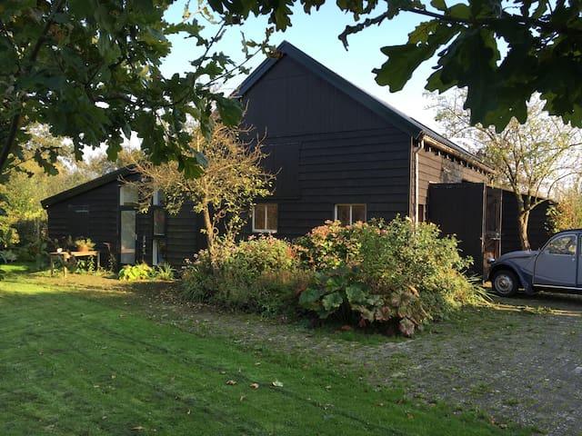 Huisje in nationaal park Weerribben/Wieden