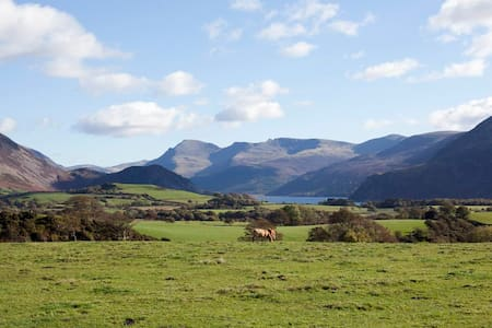 Fell view, close to Lake District National Park