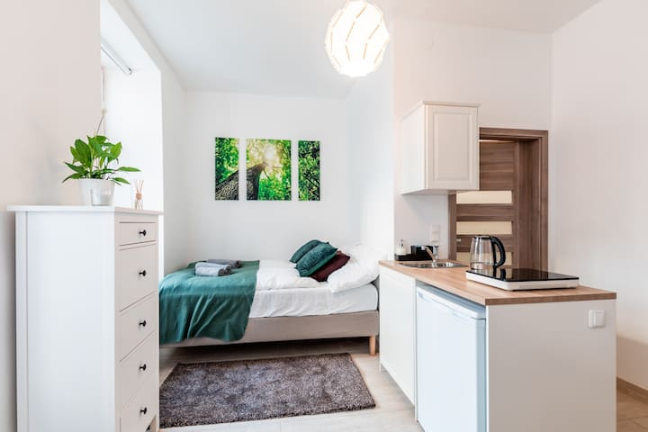 Budget brand new apartment near Hauptbahnhof