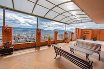 Vista terraza, Rooftop view
