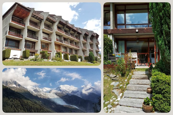 beautiful appartment in front of the mountain