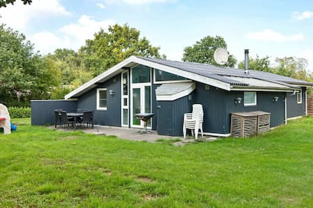 Quaint Holiday Home in Ørsted with a Swimming Pool