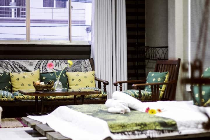 NHÀ SAIGON | Rustic Style & Spacious Room L1
