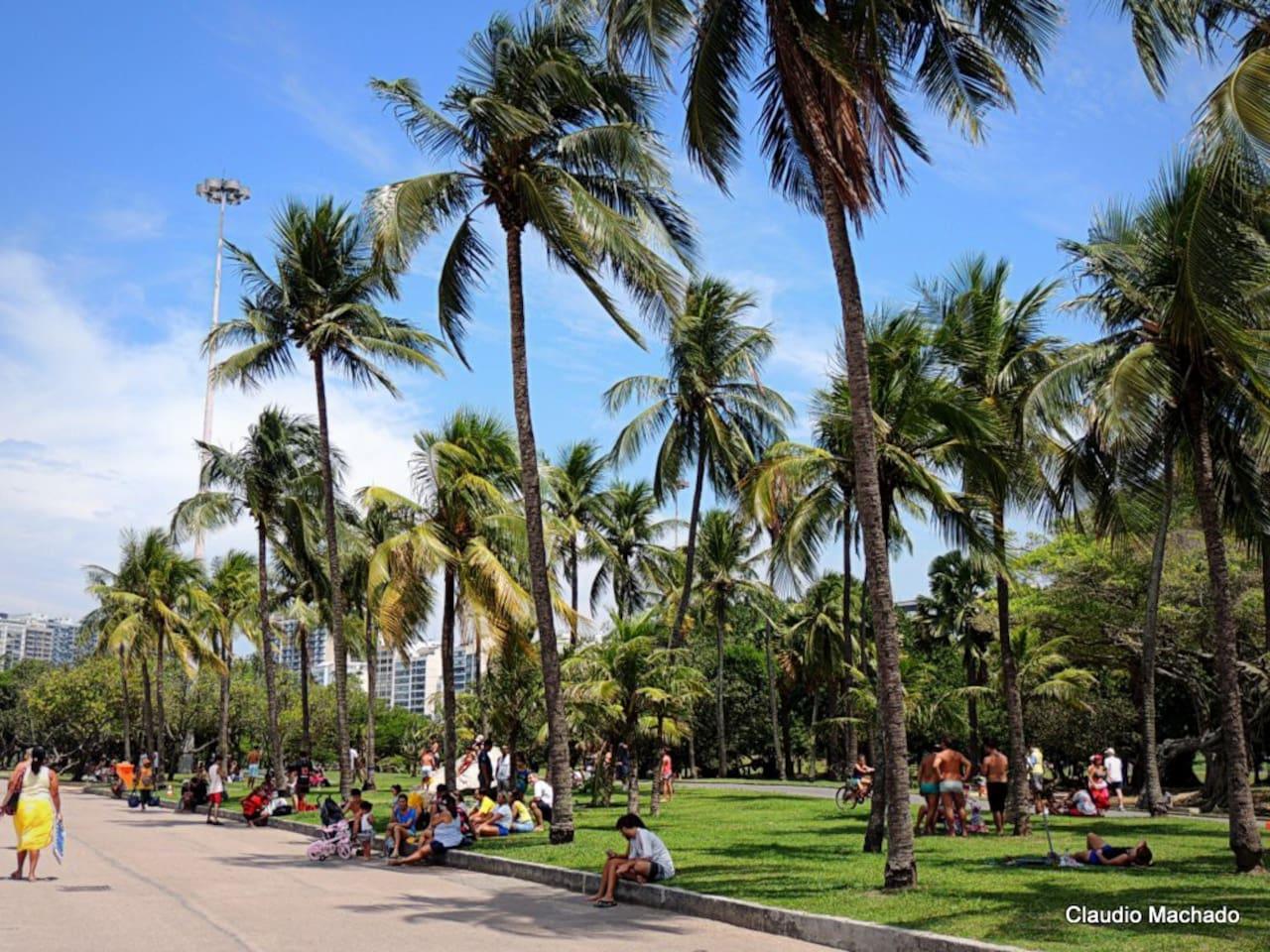 Flamengo Park/Beach, a great leisure area - postcard view to the Sugar Loaf - 3 min. away / Muito lazer no Parque do Flamengo - linda vista p/ o Pão de Açúcar à 3 minutos