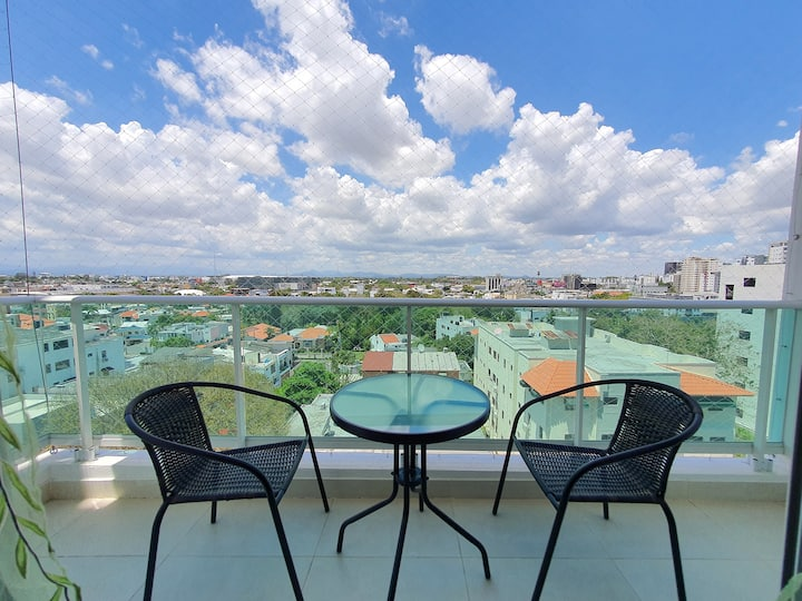 Great Apartment w/Workspace+Wifi+Rooftop+Pool+Gym