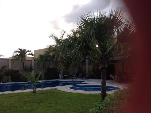 Agradable recámara en Cancún, como en familia. - カンクン - 一軒家