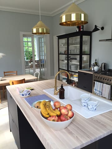 Villa apartment near Cph. city center and beach - Hellerup - Lejlighed