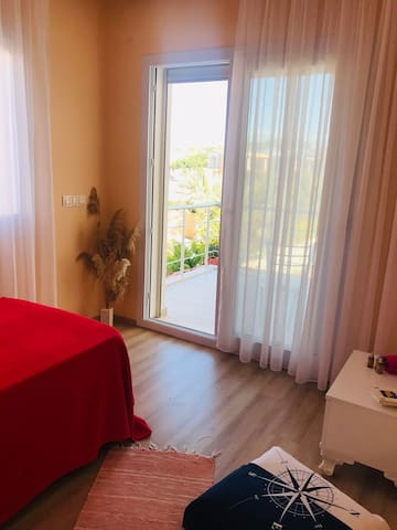 Close to Alacati with green garden (single room)