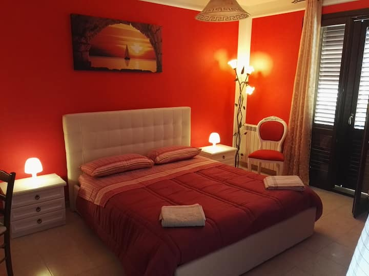 Pleasant room in Siracusa.