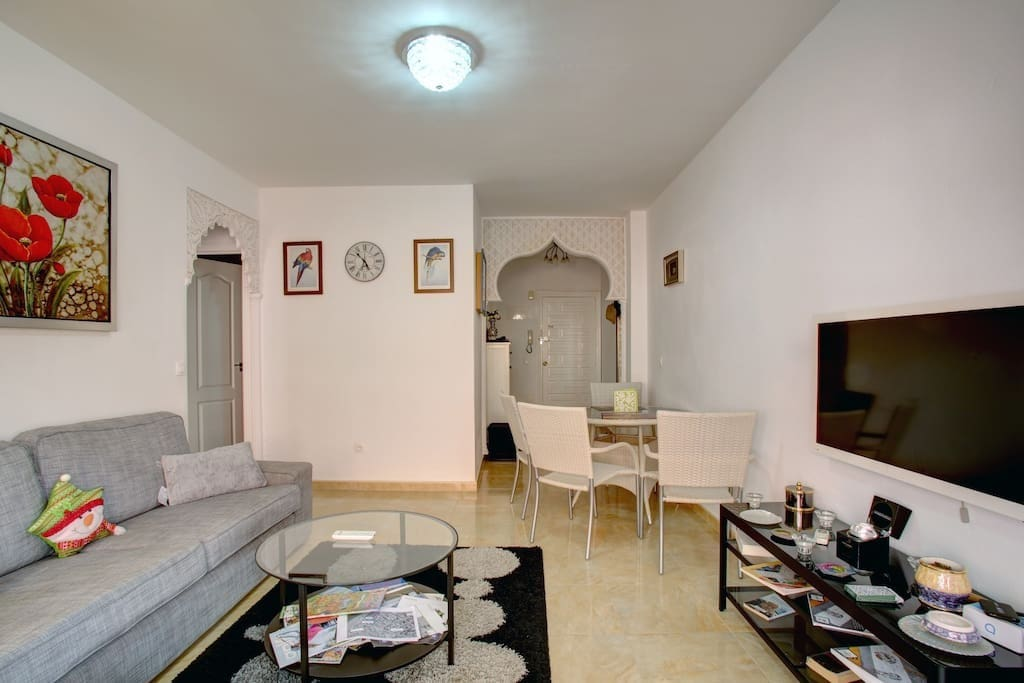 Lovely apartment 50m from beach in centrum of city