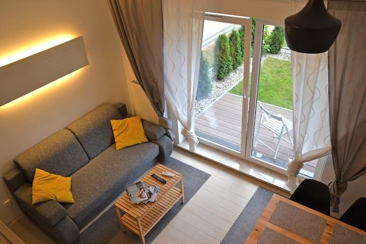 miniLOFT Studio Gdansk with Garden