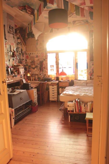 chambre (vu depuis le salon)
