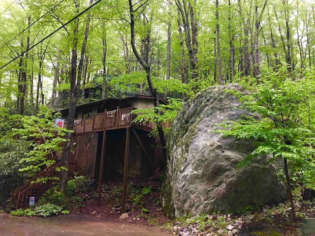 *TWO ROCK TREEHOUSE *  The Mountains Are Calling ‼️