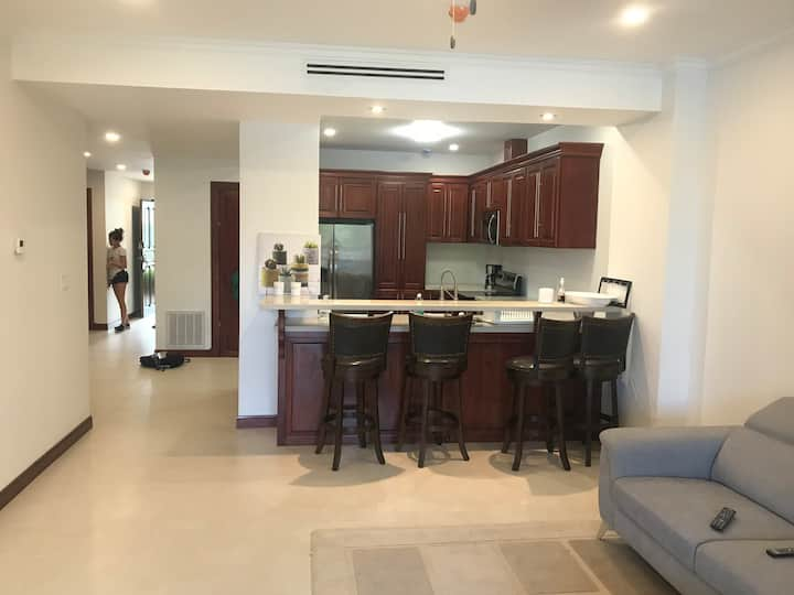 Brand New Condo. Steps from the Pool and Beach.