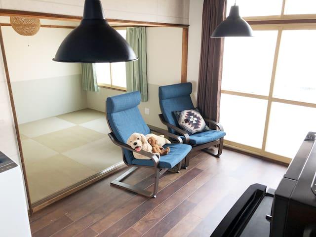 New Open! SPEED Wifi/Cozy Flat/Japanese Futon/#5