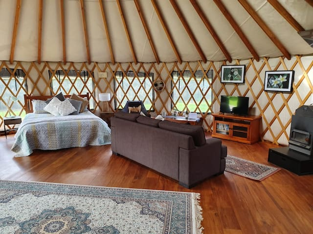 Dalebrook Yurt - Great location!