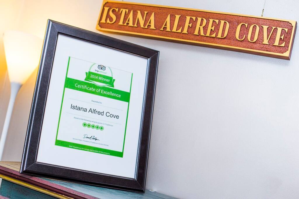 Winner of TripAdvisor's Certificate of Excellence 2014