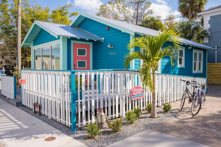 AWESOME! Downtown Sarasota Cottage Next Door & SPA