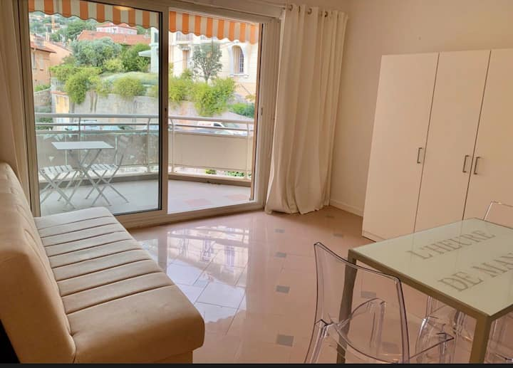 Lumineux appartement Terrasse 500M Of Monaco