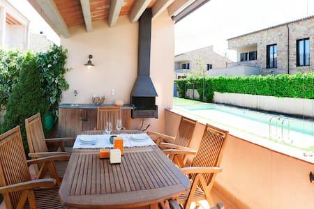 Casa Parlava + Pool. 15km Stränden der Costa Brava - Parlavà - Haus