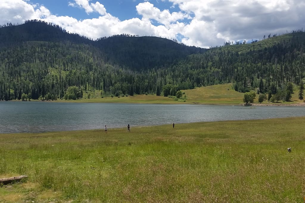 Front View of Lemon Lake