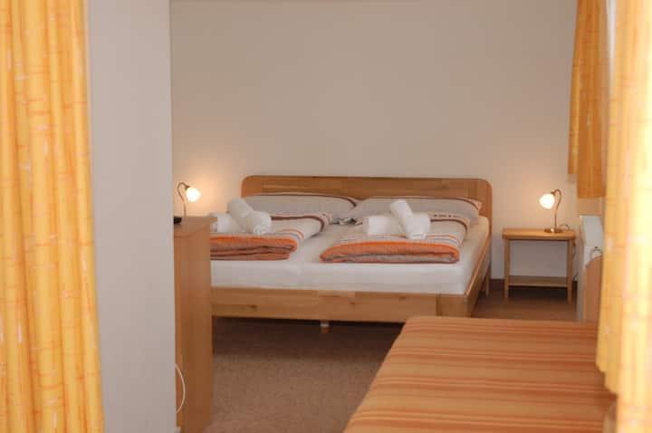 3-lůžkový apartmán č.1