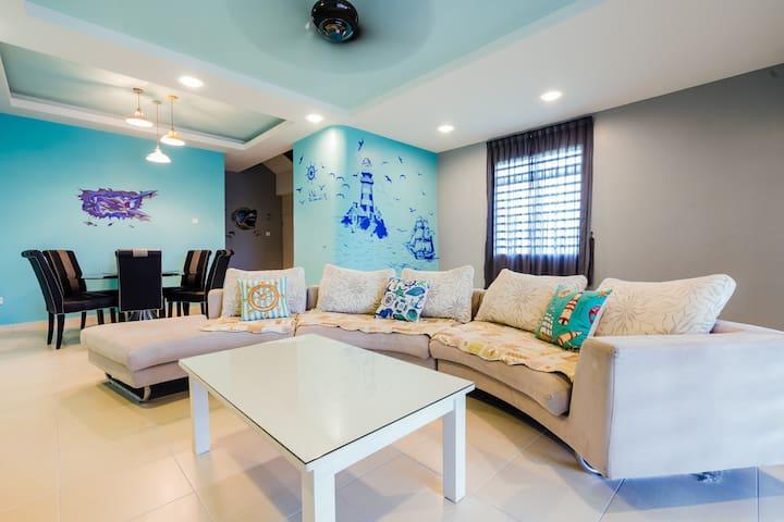 Mediterranean Ocean Designer Home