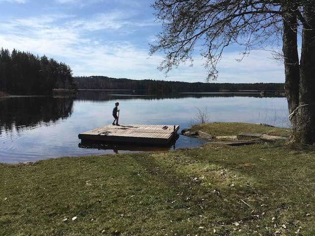 Sjövik - a calm and beautiful place