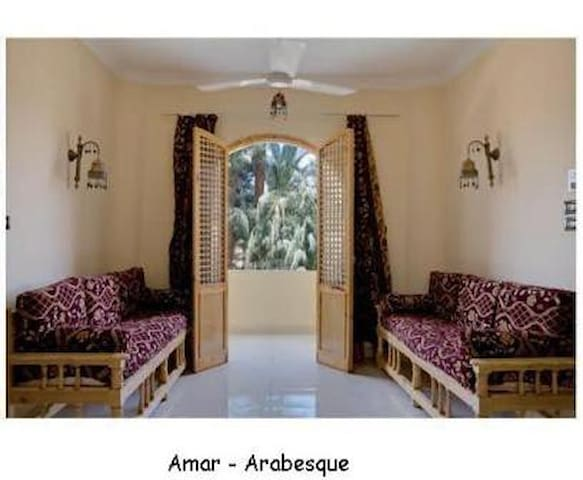 Flats in Luxor Arabesque House - traditional style