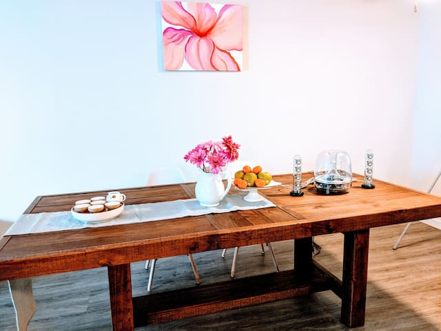 Lovely layout for soothing mood! Tea, flowers and music! Let's have some fun together!