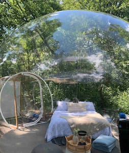 Star Gazing Bubble Camp.