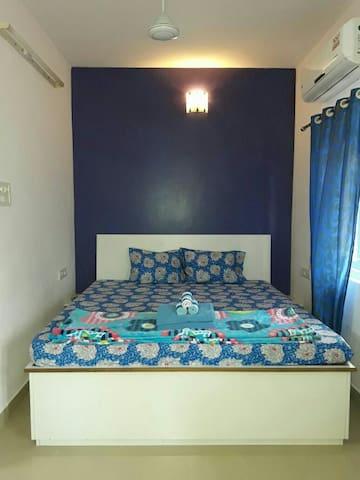 Furnished 1 RK in Calangute Baga - Calangute - Apartment