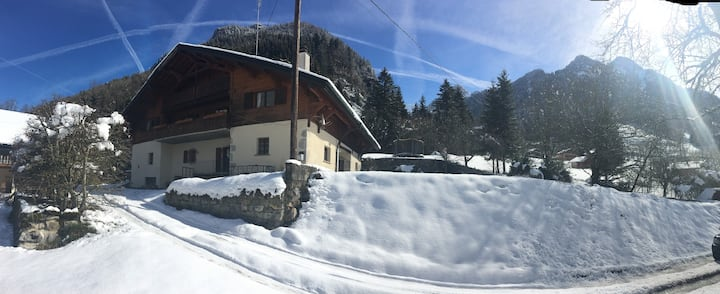 Chalet Le Renard, luxury mountain accommodation 1