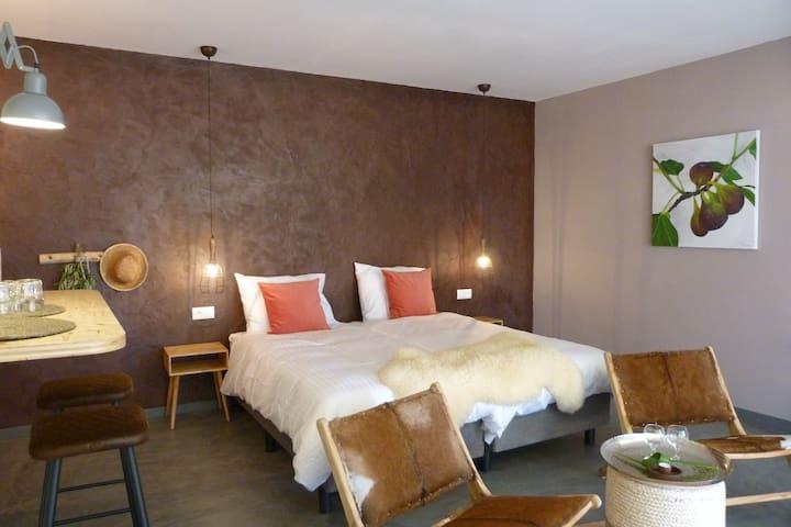 Trendy en Luxe kamer Figo, Bed&breakfast