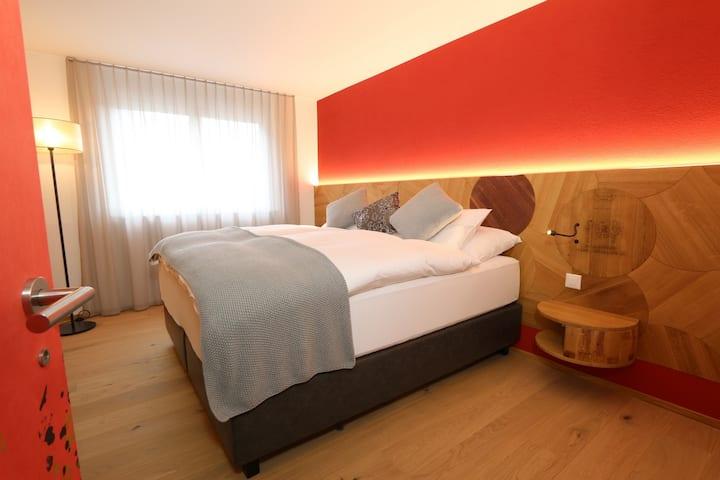 De Luxe Suite (100qm + Balkon, 15qm)