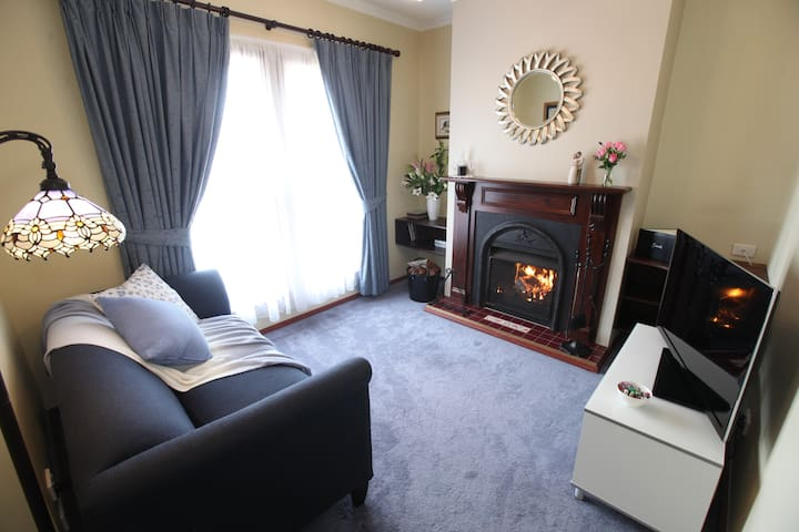 Adjoining private living room