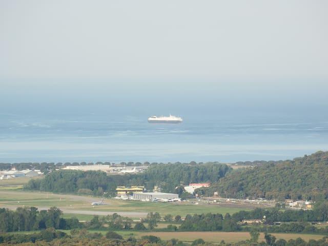Tres joli T2 avec super vue mer - Bastelicaccia - Dům