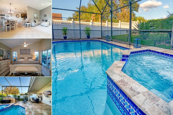 Amazing Pool Home With Spa & Outdoor Kitchen & Privacy Fence (514TC)